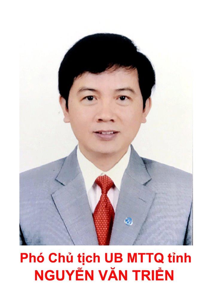 Phó chỉ tịch UBMTTQ-Nguyễn Văn Triển